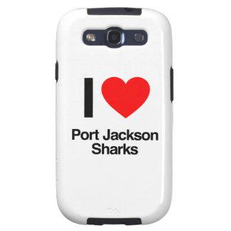 i love port jackson sharks samsung galaxy s3 cover