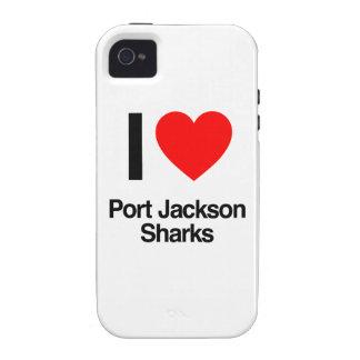 i love port jackson sharks iPhone 4/4S case