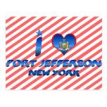 I love Port Jefferson, New York Post Card