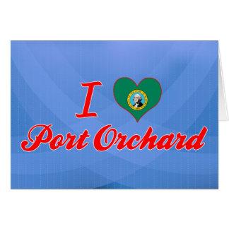 I Love Port Orchard, Washington Greeting Card
