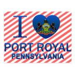I Love Port Royal, PA Post Card