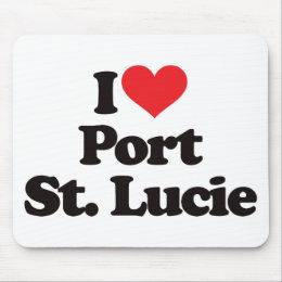 I Love Port Saint Lucie Mouse Pad