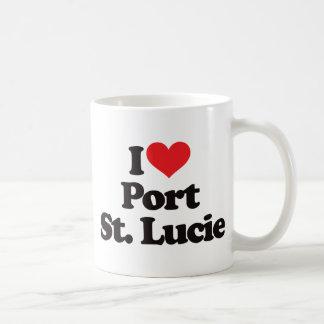 I Love Port Saint Lucie Classic White Coffee Mug