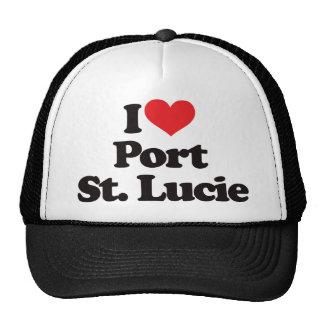 I Love Port Saint Lucie Trucker Hat