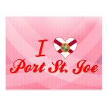 I Love Port St.Joe, Florida Postcards