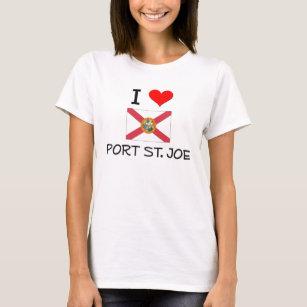 8304986a75f881 I Love PORT ST. JOE Florida T-Shirt