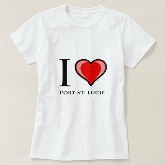 I Love Port St. Lucie T Shirt