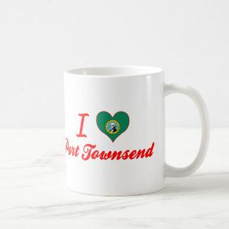 I Love Port Townsend, Washington Classic White Coffee Mug