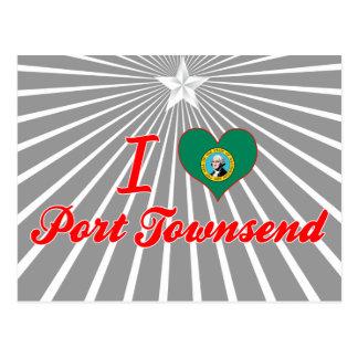 I Love Port Townsend, Washington Postcard