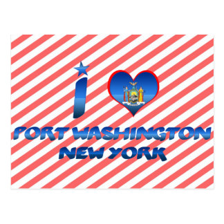 I love Port Washington, New York Postcard