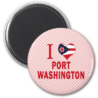 I love Port Washington, Ohio Refrigerator Magnets