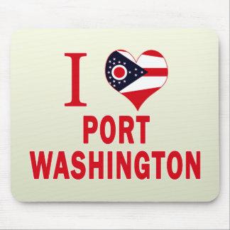 I love Port Washington, Ohio Mouse Pad