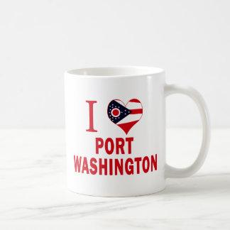 I love Port Washington, Ohio Classic White Coffee Mug