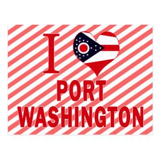 I love Port Washington, Ohio Postcard