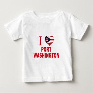 I love Port Washington, Ohio Tshirt