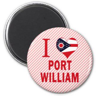 I love Port William, Ohio Refrigerator Magnet