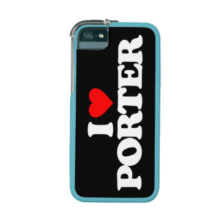 I LOVE PORTER COVER FOR iPhone 5/5S