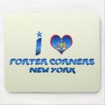 I love Porter Corners, New York Mousepads