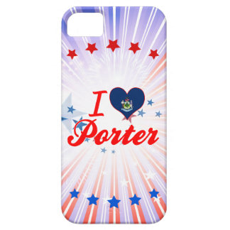 I Love Porter, Maine iPhone 5 Cover