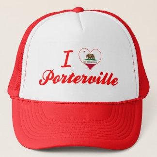 I Love Porterville, California Trucker Hat