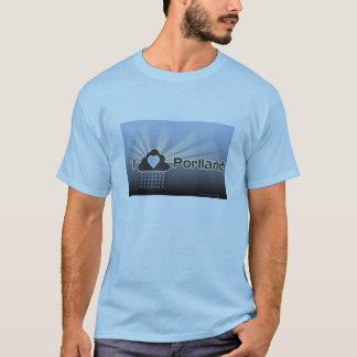 I Love Portland Blue T-Shirt
