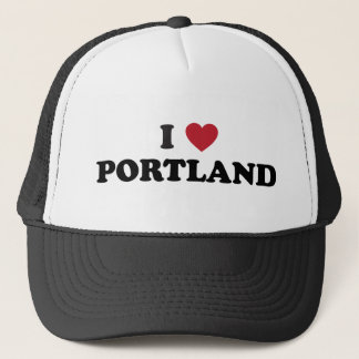 I Love Portland Oregon Trucker Hat