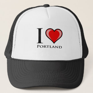 I Love Portland Trucker Hat