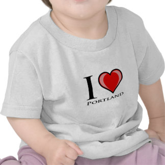 I Love Portland Tshirt