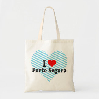 I Love Porto Seguro, Brazil Tote Bag