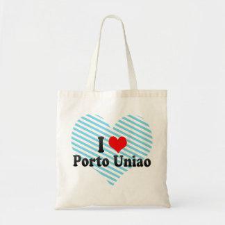 I Love Porto Uniao, Brazil Tote Bags