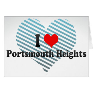 I Love Portsmouth Heights, United States Cards