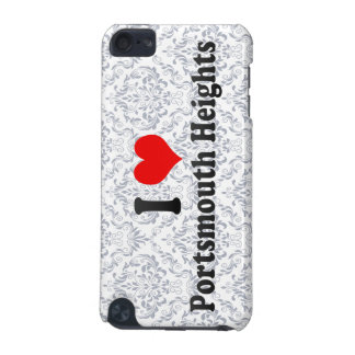 I Love Portsmouth Heights, United States iPod Touch (5th Generation) Covers