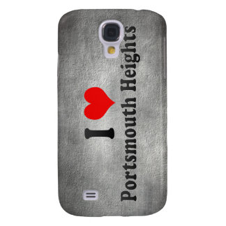I Love Portsmouth Heights, United States Samsung Galaxy S4 Cases