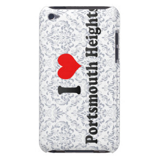 I Love Portsmouth Heights, United States iPod Case-Mate Cases