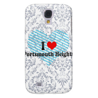 I Love Portsmouth Heights, United States Galaxy S4 Covers