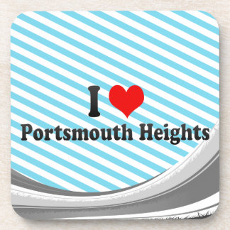 I Love Portsmouth Heights United States Coasters