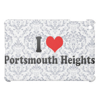 I Love Portsmouth Heights, United States Cover For The iPad Mini