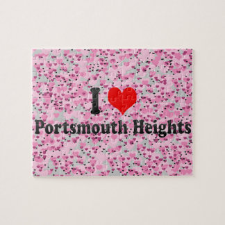 I Love Portsmouth Heights, United States Puzzles