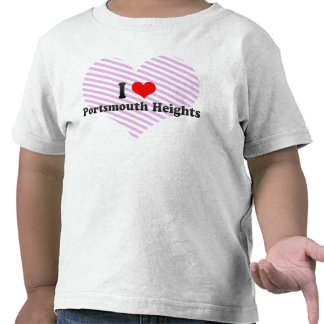 I Love Portsmouth Heights, United States T Shirt