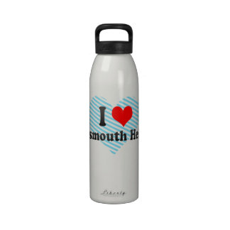 I Love Portsmouth Heights, United States Drinking Bottles