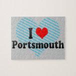 I Love Portsmouth, United Kingdom Jigsaw Puzzles