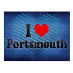 I Love Portsmouth, United Kingdom Postcard