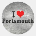 I Love Portsmouth, United Kingdom Sticker
