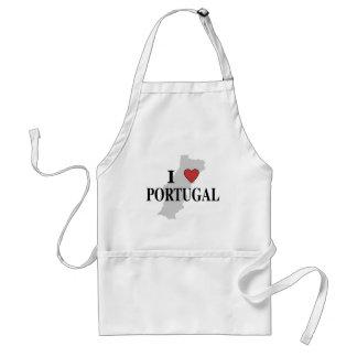 I Love Portugal Adult Apron