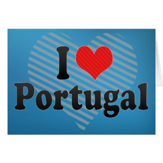 I Love Portugal Cards