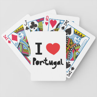I love Portugal Deck Of Cards