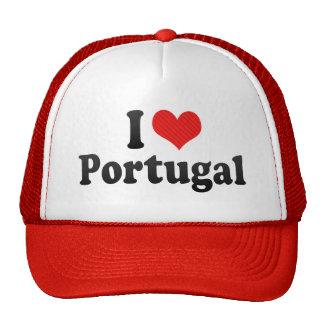 I Love Portugal Hat