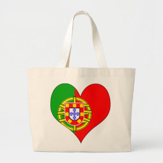 I Love Portugal Large Tote Bag