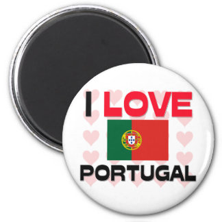 I Love Portugal Magnet