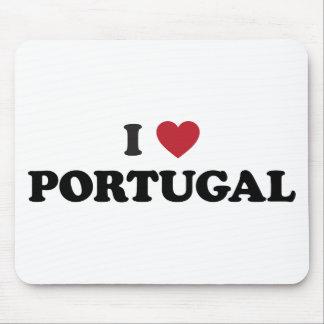 I Love Portugal Mouse Pad